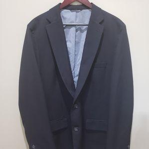 Men's Navy Haggar Sport Coat